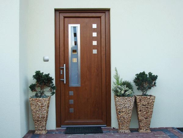 Puertas cl set y cocinas en madera puertas modernas - Puertas exteriores de pvc ...